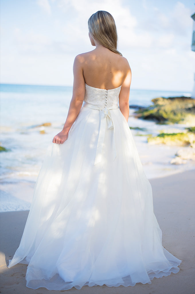 Seashell Bodice and Silver Sands Skirt