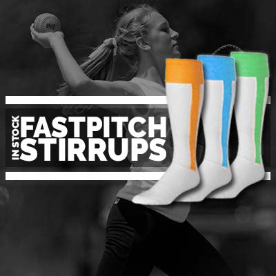 In-Stock Fastpitch/Softball Stirrups