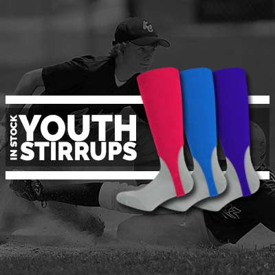 In-Stock Youth Baseball Stirrups