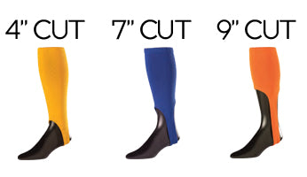 Triple-Stripe Stirrup Sock cut