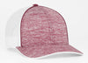 106C Heather Mesh Hat Snapback - SocksRock.com