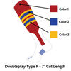 Doubleplay Custom Stirrup Sock Type F (Low Minimum & Fast Shipping)