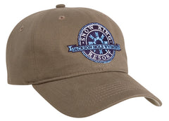 220C Brushed Velcro Adjustable Hat