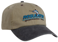 300WC Washed Pigment Dyed Velcro Adjustable Hat