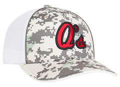 408M Digital Camo Trucker Mesh Universal Fit Hat