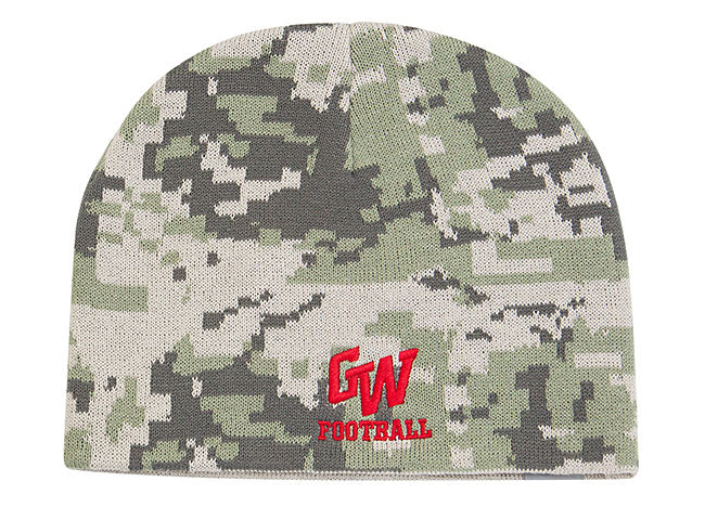 635K Digital Camo Knit Hat - SocksRock.com