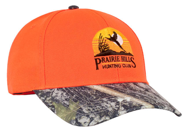 680C Blaze Orange Camo Hat - SocksRock.com