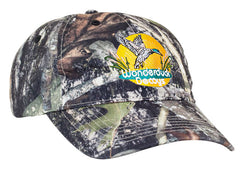 685C Unstructured Camo Hat