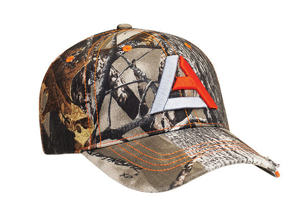 696C Distressed Camo Hat - SocksRock.com