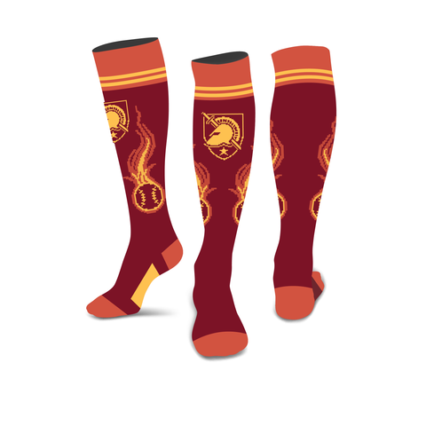 Blaze Custom Baseball Socks
