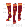 Blaze Custom Softball Socks - SocksRock.com