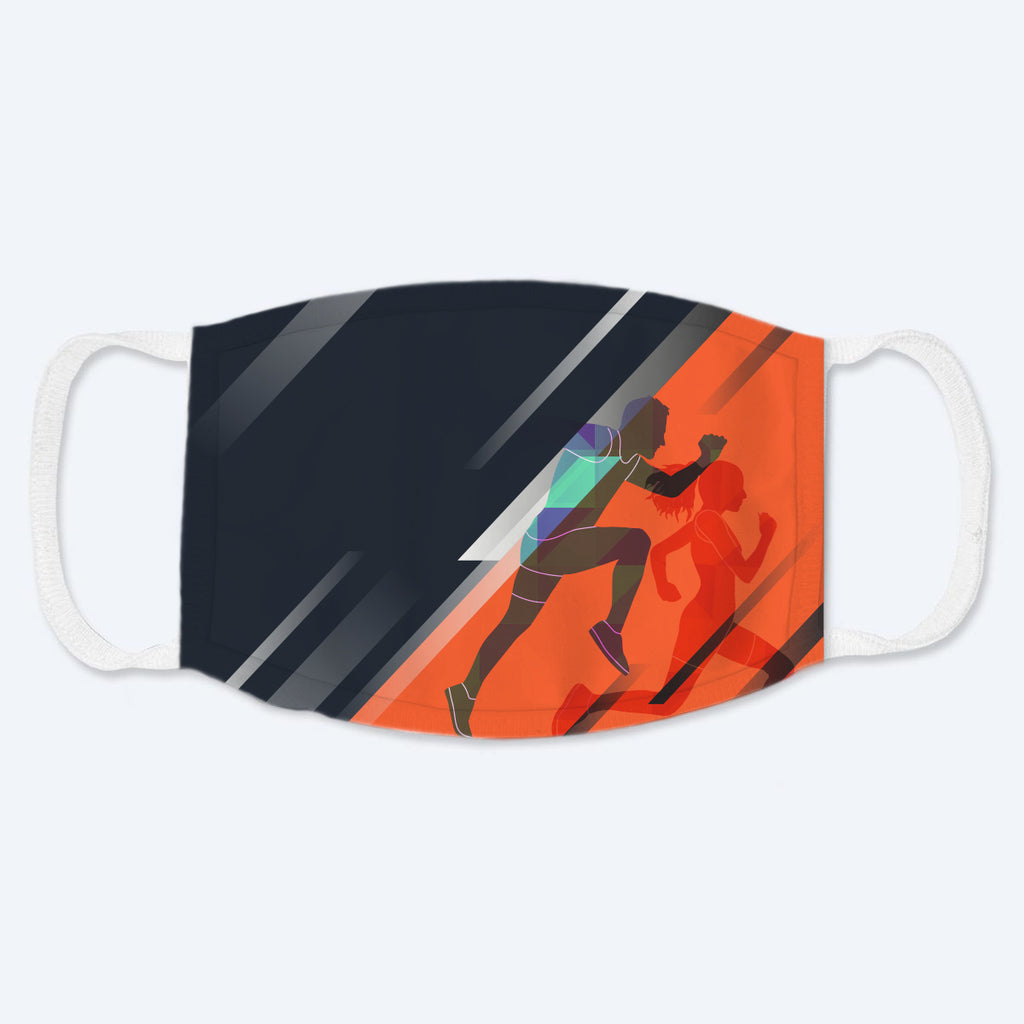 Run Fast Polyester Face Guard - SHIPS FAST!