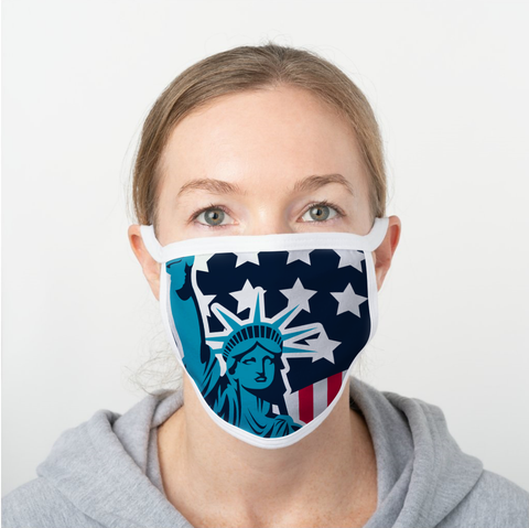 U.S.A. Themed Face Guards