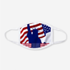 Lady Liberty Patriotic Polyester Face Guard - SHIPS FAST!