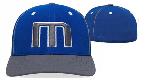 Performance M2 fabric in a custom hat with universal size fit (998F)
