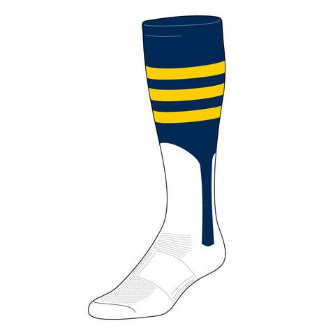 Triple-Stripe Stirrup Sock (BPX-B)