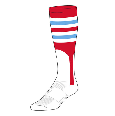 Cardinals Stirrup Sock (BPX-I)