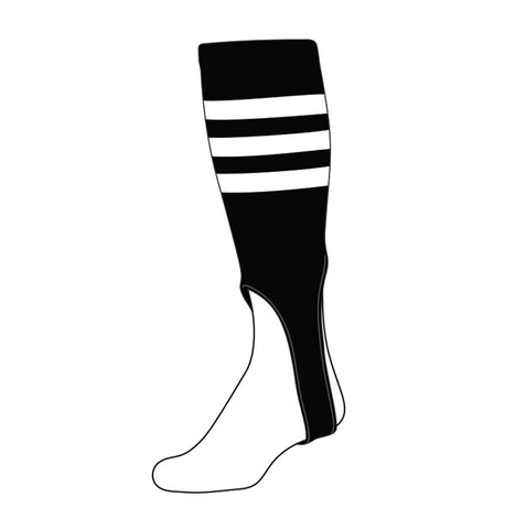 Baseball Stirrup - Triple Stripe (PATTERN B) SHIPS FAST!