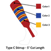 Custom Stirrup Type C (Low Minimum & Fast Shipping)