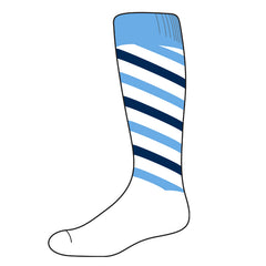 Candy Stripe - CUSTOM SOCKS - (RCSX)