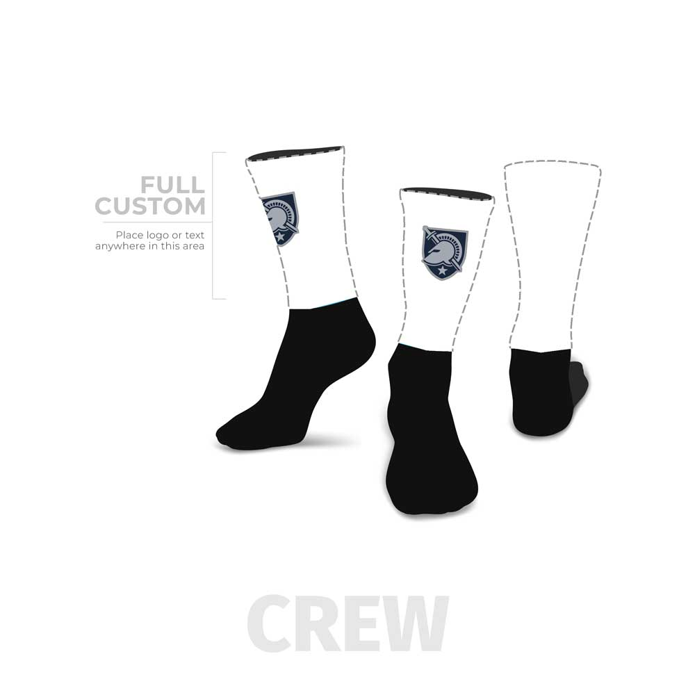 Design Your Own - Crew - Half Custom Printed Sock - SocksRock.com