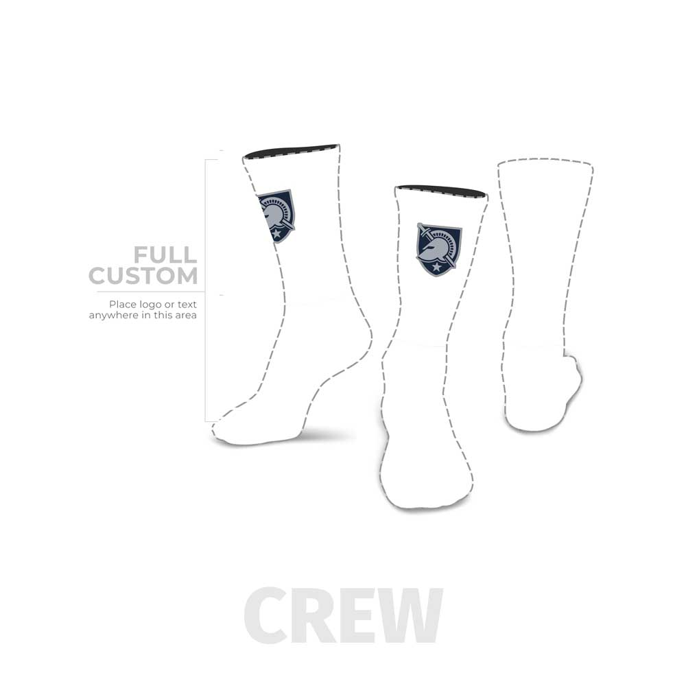 Design Your Own - Crew - Full Custom Printed Sock - SocksRock.com