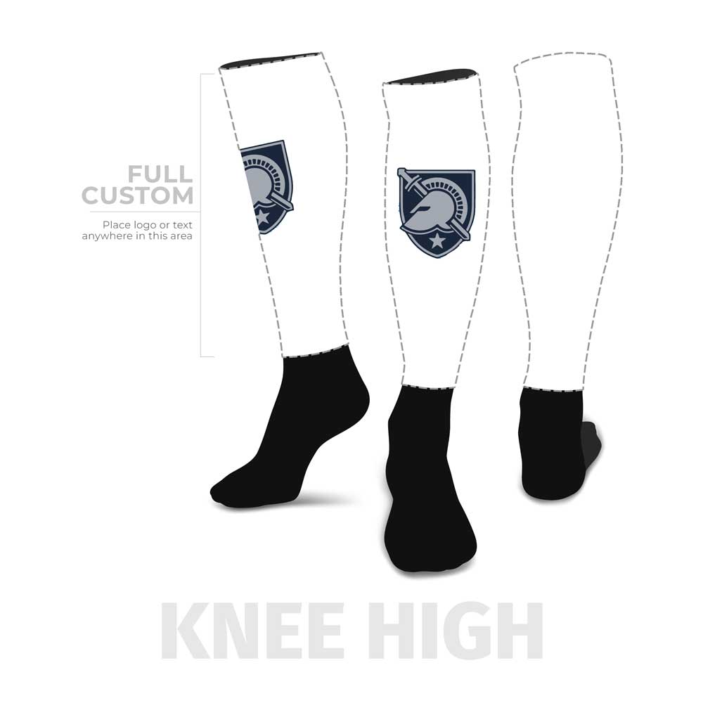 Design Your Own - Knee-High - Half Custom Printed Sock - SocksRock.com