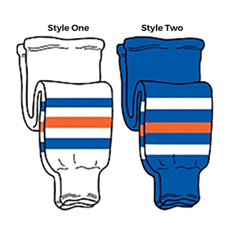 Edmonton - Pro Weight Knit Ice Hockey Socks