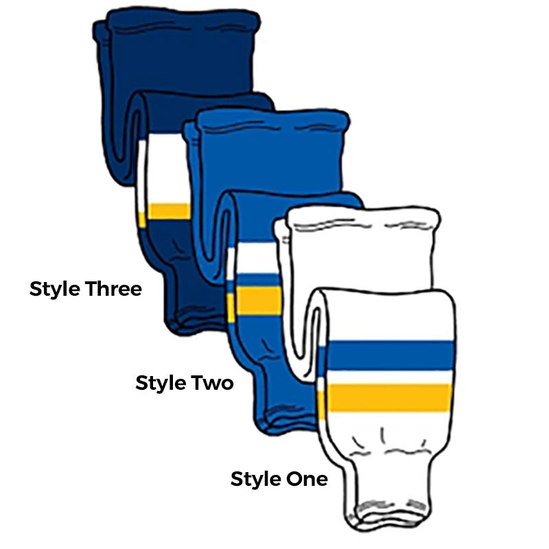St Louis - Pro Weight Knit Ice Hockey Socks - SocksRock.com
