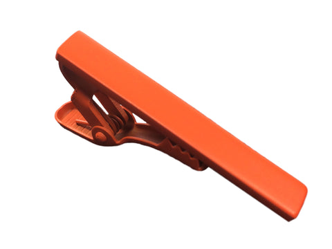 Naval Orange Tie Bar