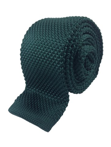 Dark Green Knit