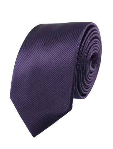 Dark Purple Skinnytie