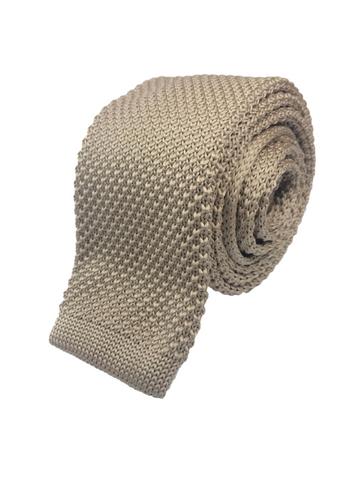 Royal Artillery Khaki Knitted Tie