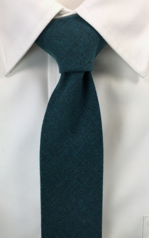 Beaver Fur Forest Green Skinnytie