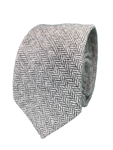 Grey Herringbone