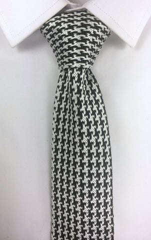 Houndstooth Knit