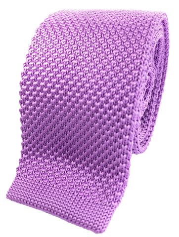 Thistle Purple Knit