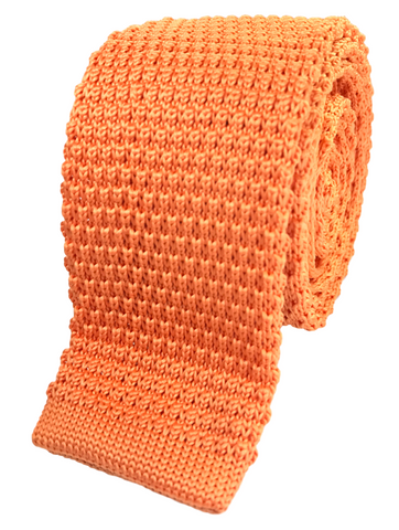 Peach Orange Knit