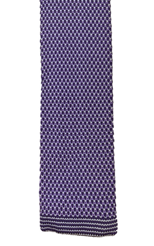 Purple Dragonscale Knit