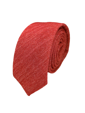 Alizarin Crimson Chambray
