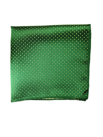 Forest Green Pin Dot Pocket Square