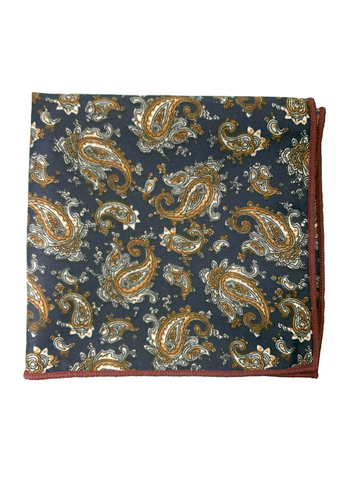 Paisley #1 Pocket Square