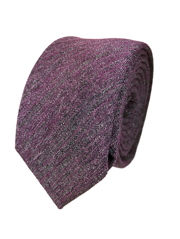 Tyrian Purple Chambray