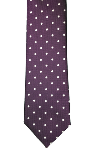 Purple Polka Dot