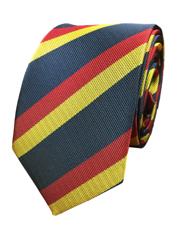 Red and Yellow Repp Stripe