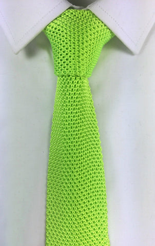 Lime Green Knit