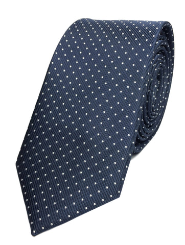 Pindot - Navy/White