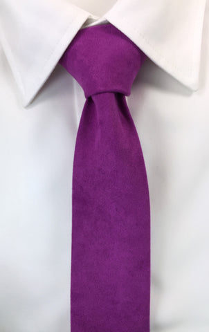Beaver Fur Royal Purple Skinnytie