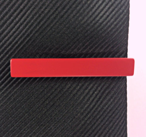 Crimson Red Tie Bar