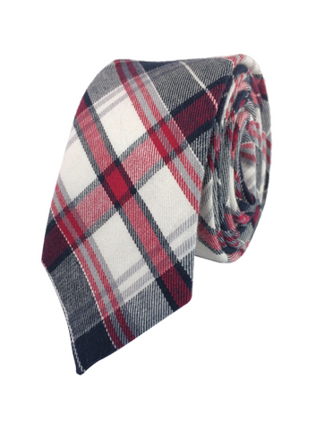 Red and Grey Hawthorne Plaid